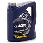 Масло моторное 10w-40 Mannol Classic 5л
